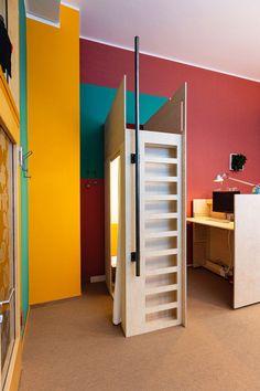 Modern Shop, Design Studio, Campervan, Colorful Interiors, New Work, Locker Storage, Berlin, Innovation, Cabinet