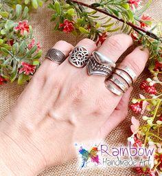 Handmade jewelry and more! Handmade Art, Handmade Jewelry, Cuff Bracelets, Silver Rings, Handmade Jewellery, Jewellery Making, Diy Jewelry, Craft Jewelry, Handcrafted Jewelry