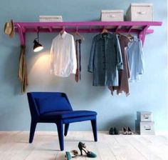 We've found some great ideas on the web for upcyclingan old ladder via scraphacker.com. They can be left to just lean against a wall, used ...
