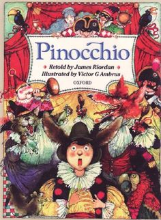 Pinocchio on TheBookSeekers.