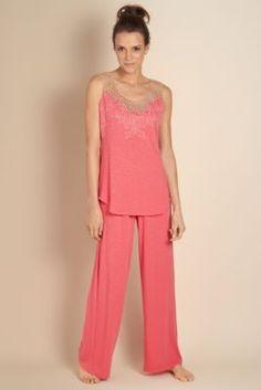 Tropical Petals Pj - Scoop Neck Pj, Sleepwear & Robes, Clothing   Soft Surroundings