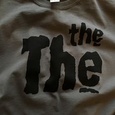 Charcoal The The #mattjohnson #thethe #tshirts
