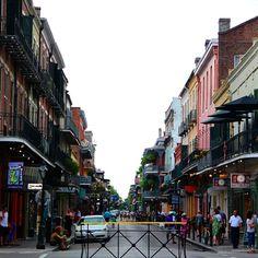 Memories on Bourbon St #neworleans #nola #bourbonst #frenchquarter #grenades #fireballs #usatrip #takemeback by angetuazon