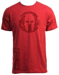 SPARTAN ® Official Store of the SPARTAN Race - SPARTAN COMBAT Tee - Red, $28.00 (http://www.spartanfighter.com/spartan-combat-tee-red/)