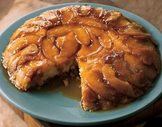 Upside-Down Butterscotch Apple Sour Cream Cake