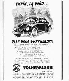 50 vieilles publicités Volkswagen (Combi, Coccinelle…)