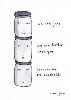 Superiority.  By Marc Johns: Ya gotta laugh