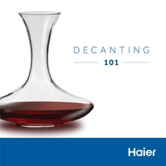 Did you know? Decanting has different purposes depending on the wine's age  #WineWednesday