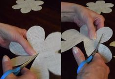Easy DIY Burlap Roses Tutorial | DIY Projects & Crafts by DIY JOY at http://diyjoy.com/how-to-make-burlap-roses-tutorial