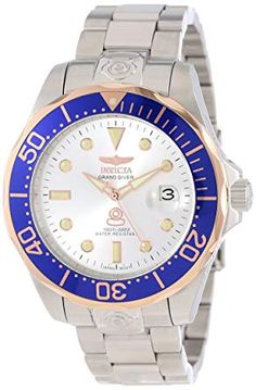 47317da86aa Invicta Men s 13789 Pro Diver Automatic Silver Dial Stainless Steel Watch  Review Ingersoll Watches