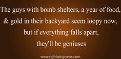 The guys with bomb shelters...