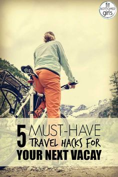 These travel hacks will make any adventure smooooth sailing.   Fit Bottomed Girls