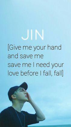BTS / Jin / Save ME / Wallpaper