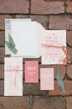 Masquerade inspired wedding invitations | photo by Bradley James Photography | invites by Pitbulls and Posies | 100 Layer Cake