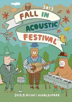 Fall in Acoustic Festival 2013 14th September 2013. Vivaldi park