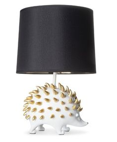 A hedgehog lamp that looks pretty sharp. | 31 Home Decor Products You Didn't Know You Could Get At Target