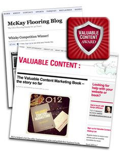 Valuable Content Award