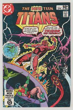 New Teen Titans V1 6. VF/NM. April 1981.  DC by RubbersuitStudios #teentitans #raven #comicbooks