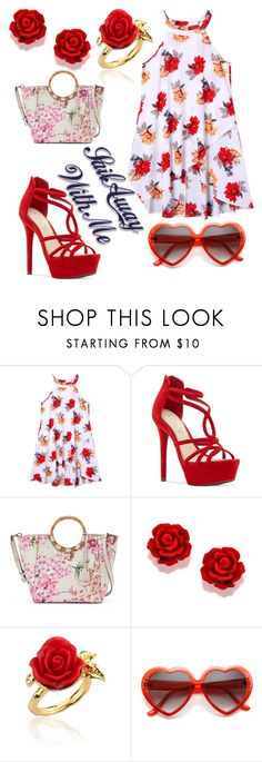 """Fashion"" by jasmina-ishak ❤ liked on Polyvore featuring Jessica Simpson, Dana Buchman and Disney Couture"