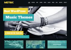 935+ WordPress Music Themes