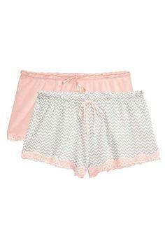 2-pack pyjama shorts   H&M