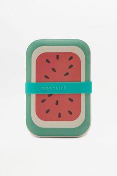 Slide View: 1: Brotdose mit Wassermelonendesign