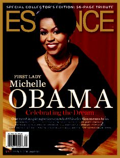 Essence Magazine (First Cover As First Lady)