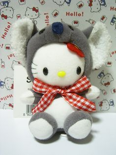 Australia GOTOCHI HELLO KITTY Koala mini Plush Doll Mascot Charm Sanrio 2005