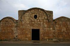Chiesa di San Giovanni di Sinis, façade, VIe siècle.