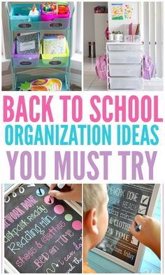 Back To School Organization Ideas For A Successful Year Back To School Organization Ideas For A Successful Year Organization Obsessed The post Back To School Organization Ideas For A Successful Year appeared first on School Diy. Diy Organisation, Kids School Organization, Organizing Ideas, Organize For School, Organizing School Supplies, Organising Hacks, Organization Station, Organizing Life, Office Supplies