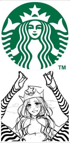 The origin behind the Starbucks logo.