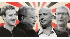 Tech giants fight to stay ahead though massive investments |