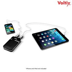 Voltix 7200 mAh Dual-USB Power Bank with Built-in Flashlight at 77% Savings off Retail!