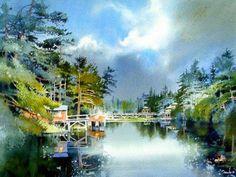 Nita Engle watercolor painting