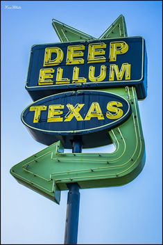 Deep Ellum Neon Sign
