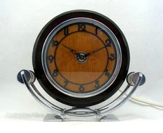 Antiques Atlas - Art Deco Modernist Clock By SEC