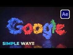 After Effect Tutorial, Text Animation, After Effects, Simple Way, Logos, Youtube, Adobe, Template, Learning