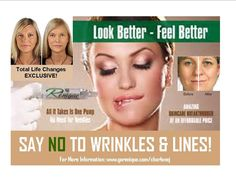 Renique is a safe, effective alternative to Botox! A Total Life Changes Exclusive product! Learn more at www.gorenique.com/charlenej