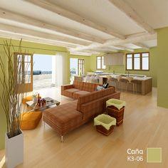 Dale un efecto de profundidad y conserva la frescura de tu espacio con este #COLOR.