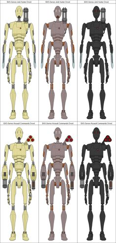 Star Wars Characters Pictures, Star Wars Pictures, Star Wars Art, Star Trek, Star Wars Battle Droids, Galactic Republic, Star System, Robot Concept Art, Bounty Hunter
