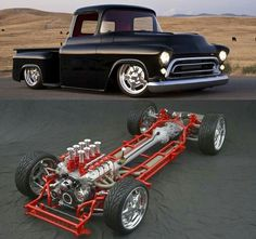 Classic 57 Chevy truck..