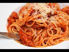 Hungarian Recipes, Italian Recipes, Hungarian Food, Spaghetti Bolognese, Bologna, Meal Prep, Main Dishes, Food Photography, Food Porn