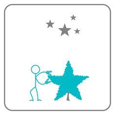 #279 - star interpretation by Edward Scissorhands