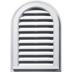 Builders Edge 120081422001 16' x 24' Round Vent Top 001, White >>> Click image to review more details.
