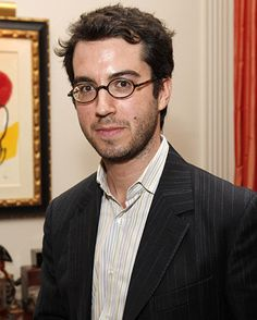 """Jonathan Safran Foer, author... I loved """"Everything is Illuminated""""... and am a little too chicken (excuse the pun) to read """"Eating Animals"""""""