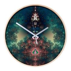 Green Fairy Tale Wooden Wall Clock > Green Fairy Tale > Design Windmill