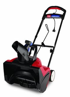 Toro 38381 15 Amp Electric 1800 Power Curve Snow Blower Power Curve technology carves paths 18 inches wide and up to 12 inches deep down to the pavement Electric Snow Blower, Electric Power, Winter Storm, Ace Hardware, Shovel, Lawn And Garden, Outdoor Power Equipment, Lawn Equipment, Outdoor Living