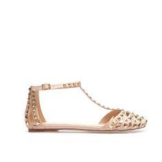 Studded Sandal  by Zara