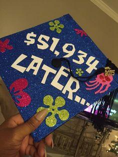 Spongebob themed graduation cap!