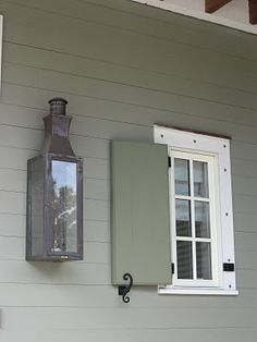 SCHEME Shutter, Shutter Hardware, Lantern, Window, Post, Faschia And